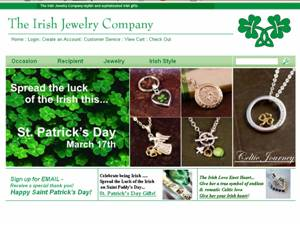Sho Irish Online at www.TheIrishJewelryCompany.com