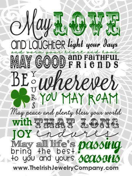 An Old Irish Blessing The Irish Jewelry Company's Blog Fascinating Irish Proverbs About Love