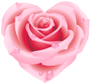 Large_Pink_Rose_Heart_