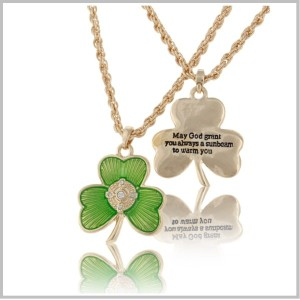 SHAMROCK BLESSING NECKLACE2