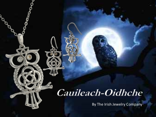 celtic owl jewelry cr