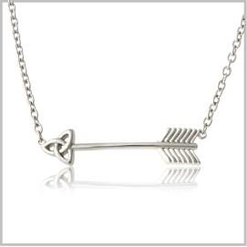 celtic arrow necklace 062159