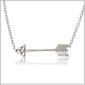 celtic arrow necklace 062159