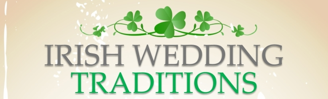 BANNER irish wedding traditions info graphic