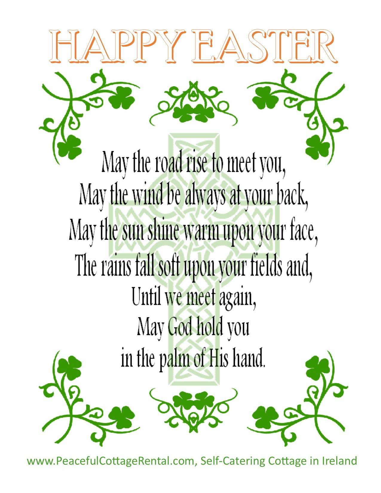 Irish Easter Blessing – The Irish Jewelry Company\'s Blog