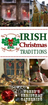 irish christmas traditions