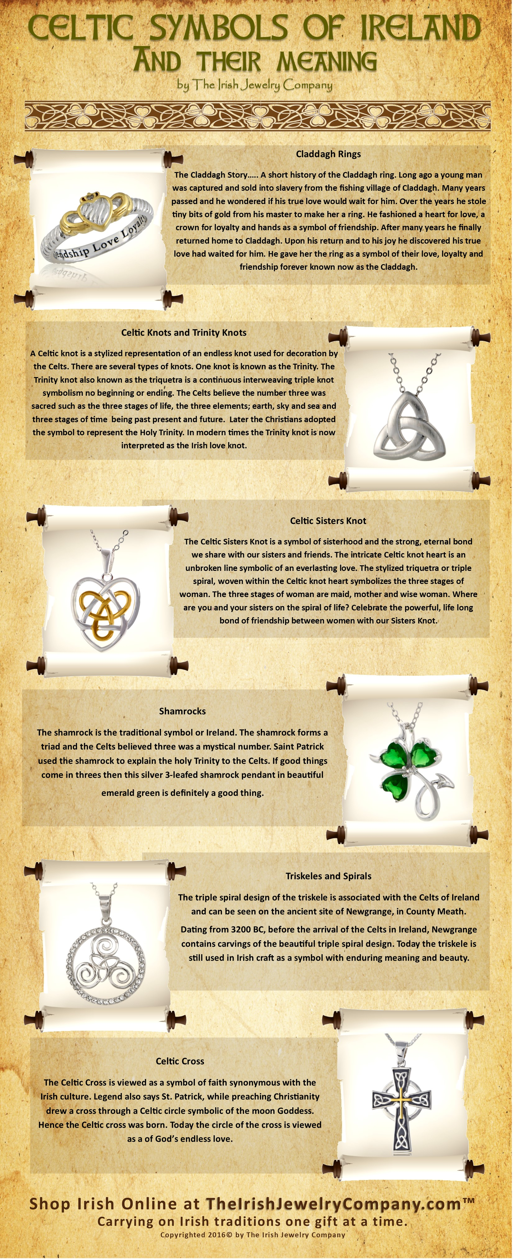 Celtic Symbols And Their Meanings The Irish Jewelry