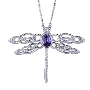 K6044 celtic dragon fly pendant 062261 - 79